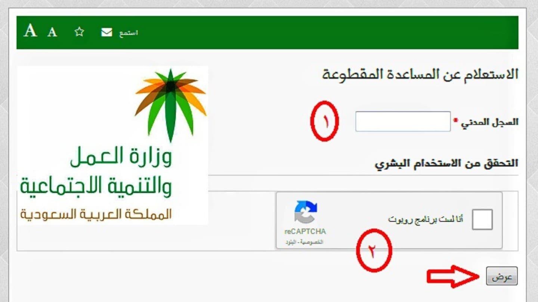 طريقة تسجيل الدخول لموقع وزارة العمل