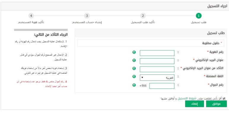 تسجيل الدخول في منصة أبشر وطريقة تفعيل حساب الأفراد