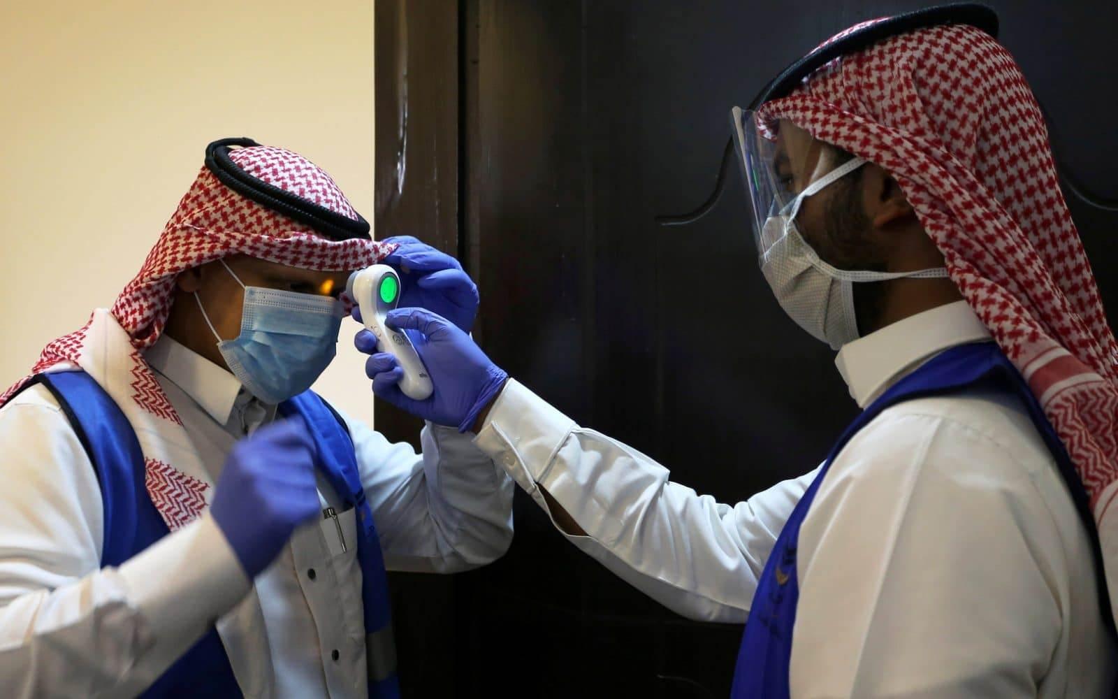 اصابات كورونا في السعودية