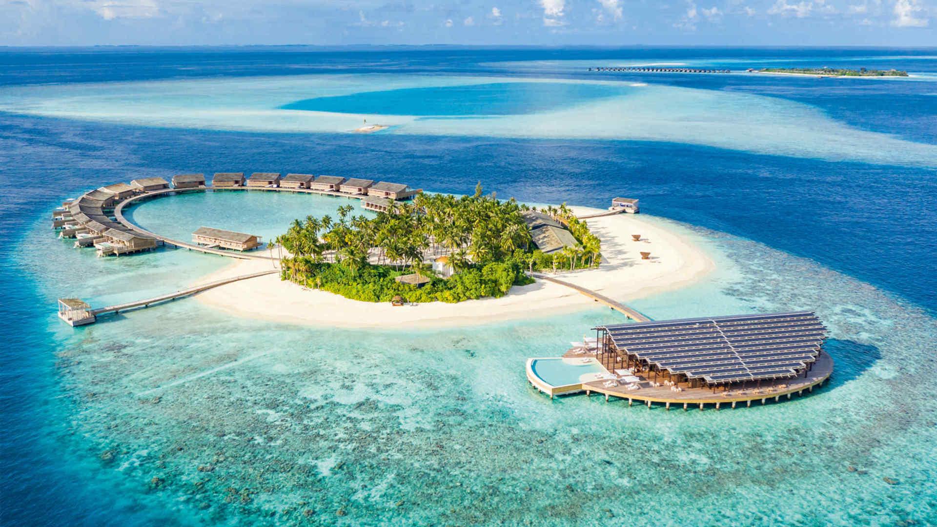 أين تقع المالديف