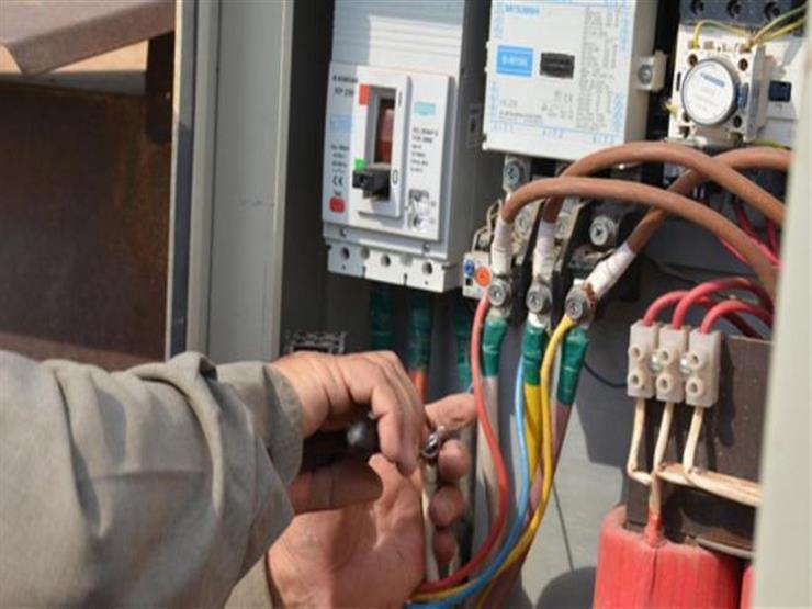 التعدي على شبكات الكهرباء