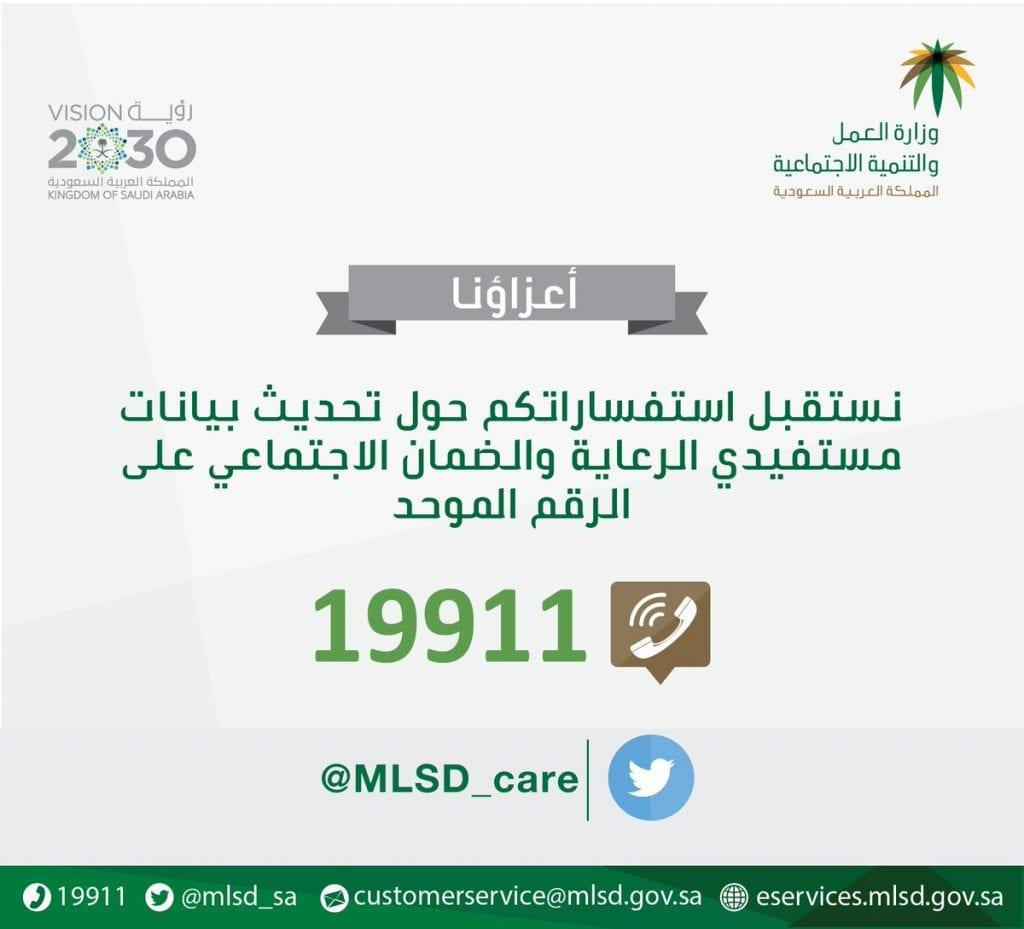 ما هو رقم الضمان الاجتماعي الموحد في المملكة العربية السعودية
